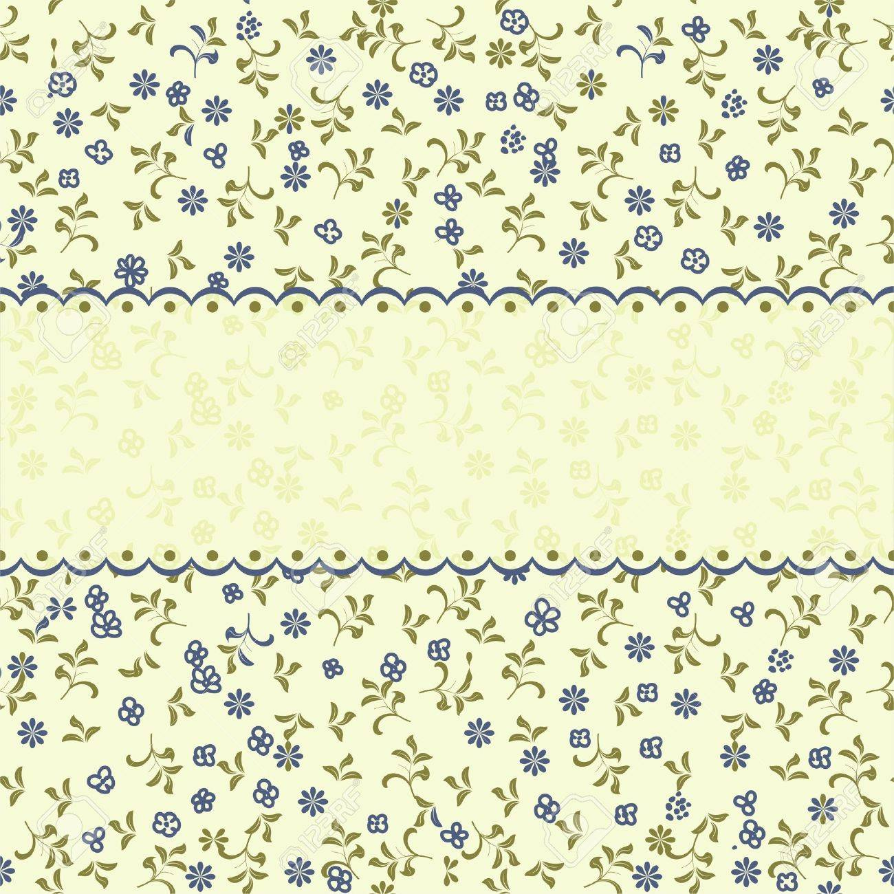 vintage floral seamless pattern Stock Vector - 11285483