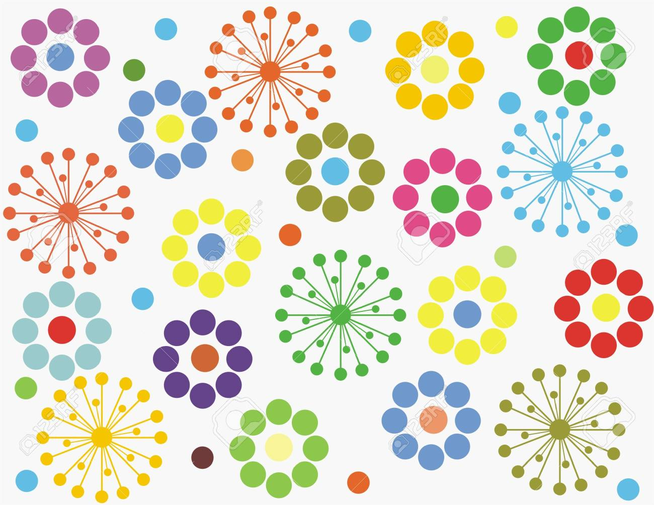 seamless floral background Stock Vector - 17604626