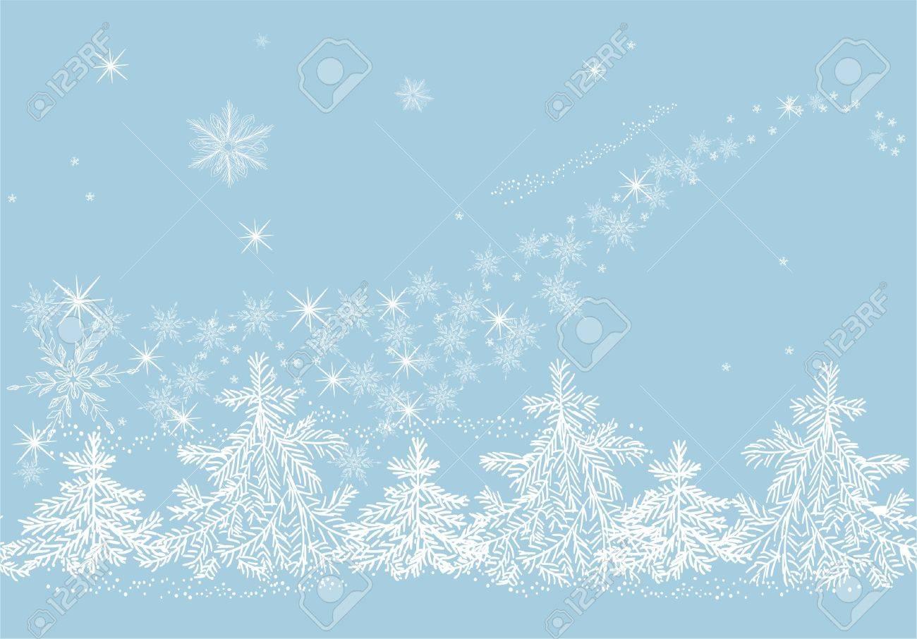 Winter blizzard Stock Vector - 17604666