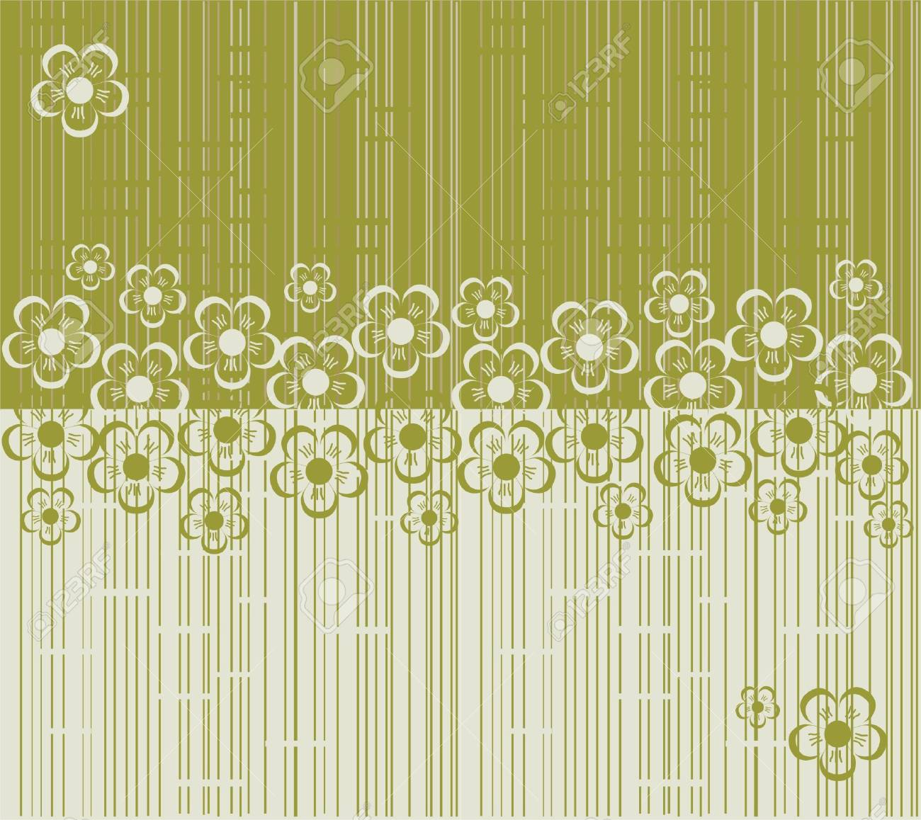 flower seamless background design Stock Vector - 17773544