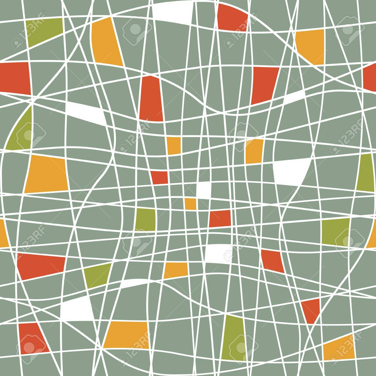 seamless abstract pattern Stock Vector - 18949058
