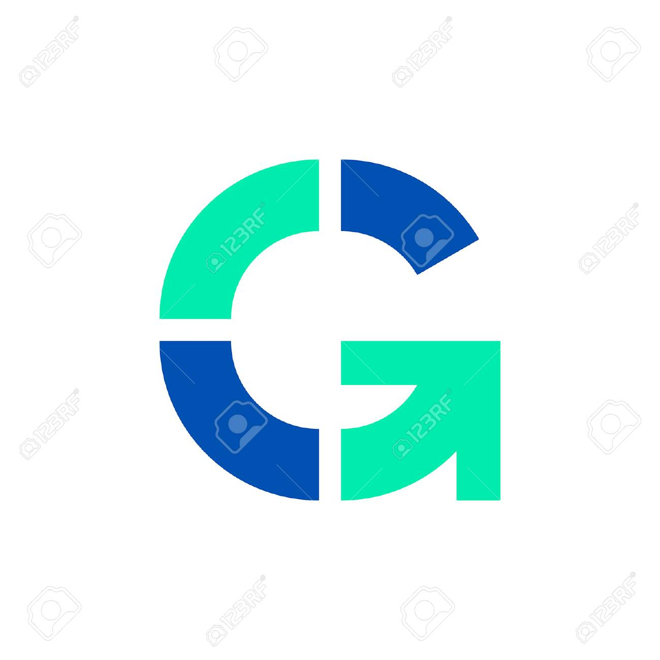 Letter G logo. Icon design. Template elements - vector sign - 111365995