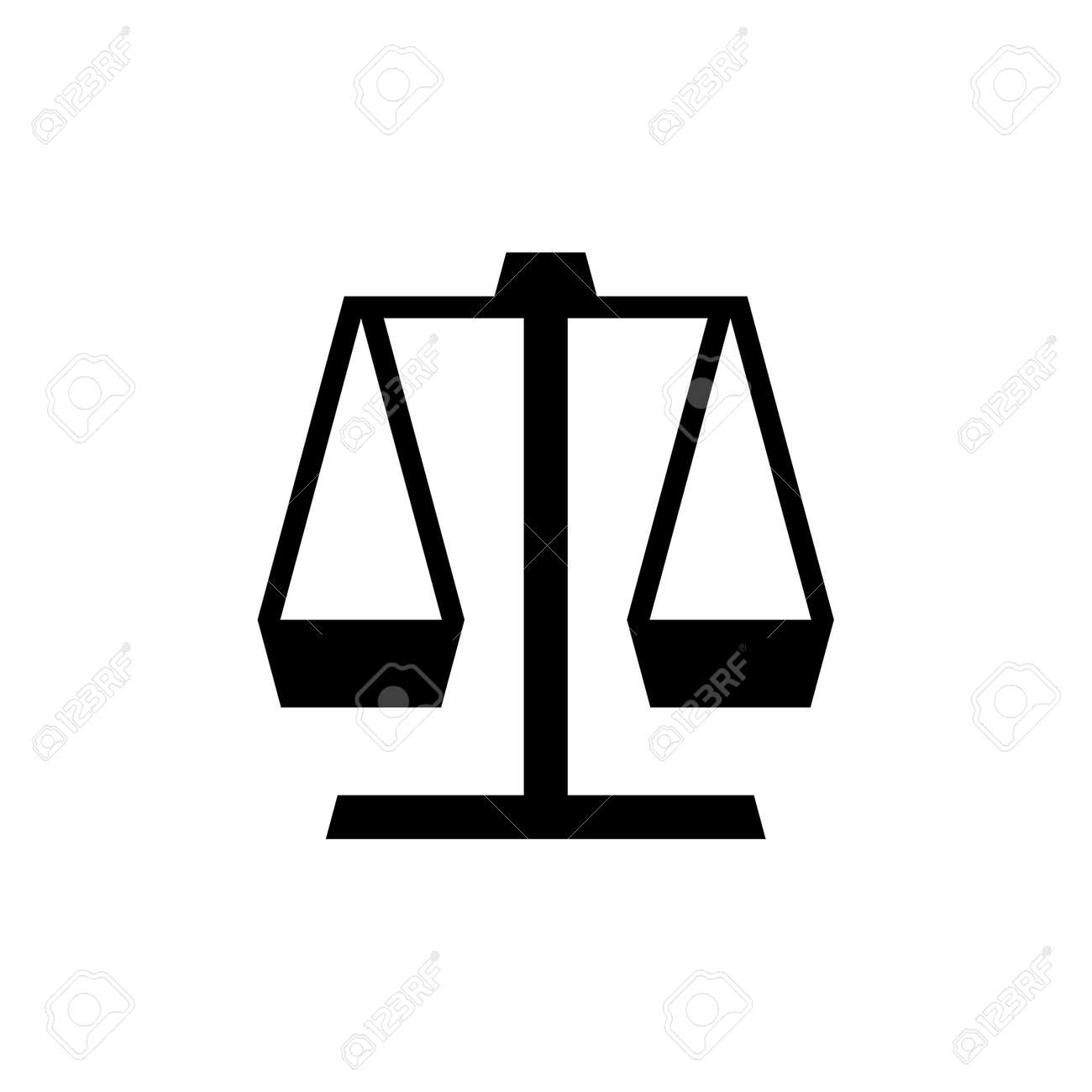 Justice law . Icon design. Template elements - 152089571