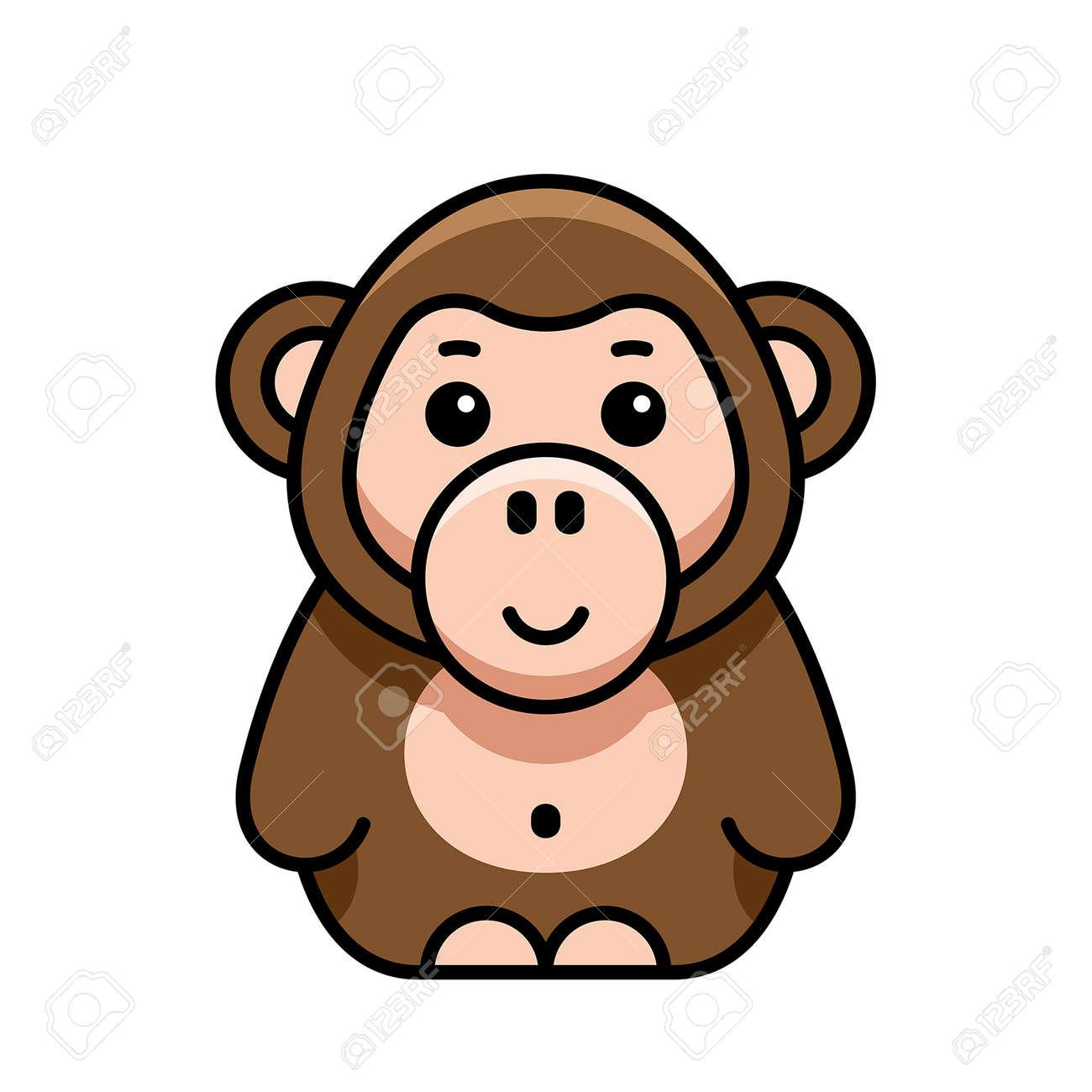 Monkey icon. Icon design. Template elements - 171231638