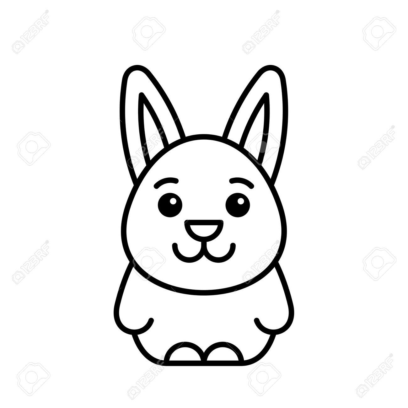 Hare icon. Icon design. Template elements - 171231654