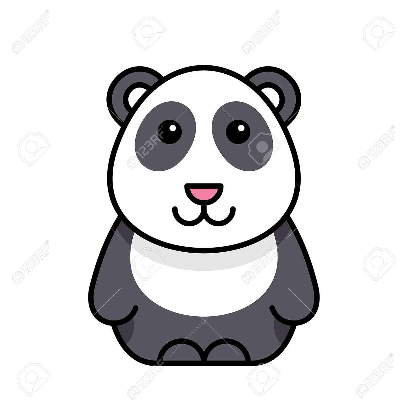 Panda icon. Icon design. Template elements - 171231657