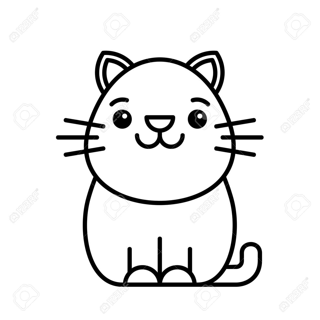 Cat icon. Icon design. Template elements - 171231662