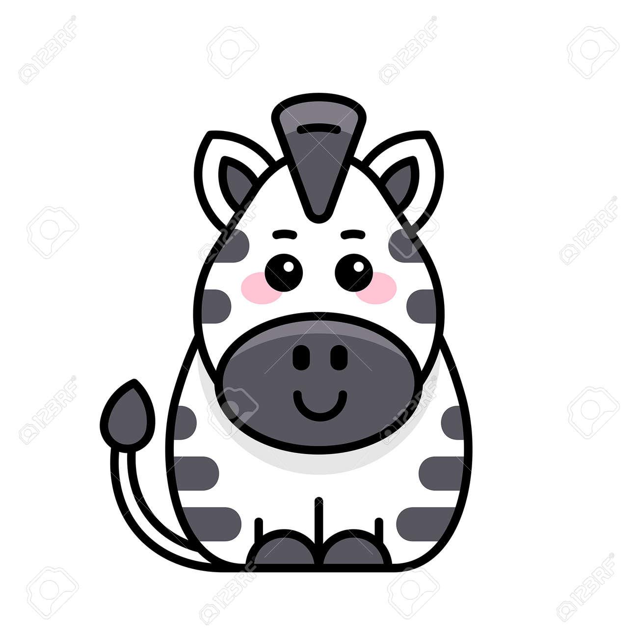Zebra icon. Icon design. Template elements - 171231673
