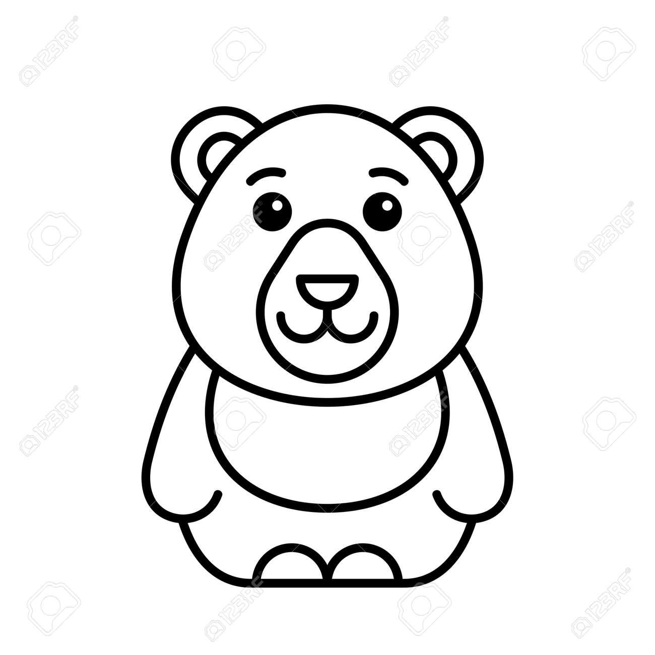 Bear icon. Icon design. Template elements - 171231671