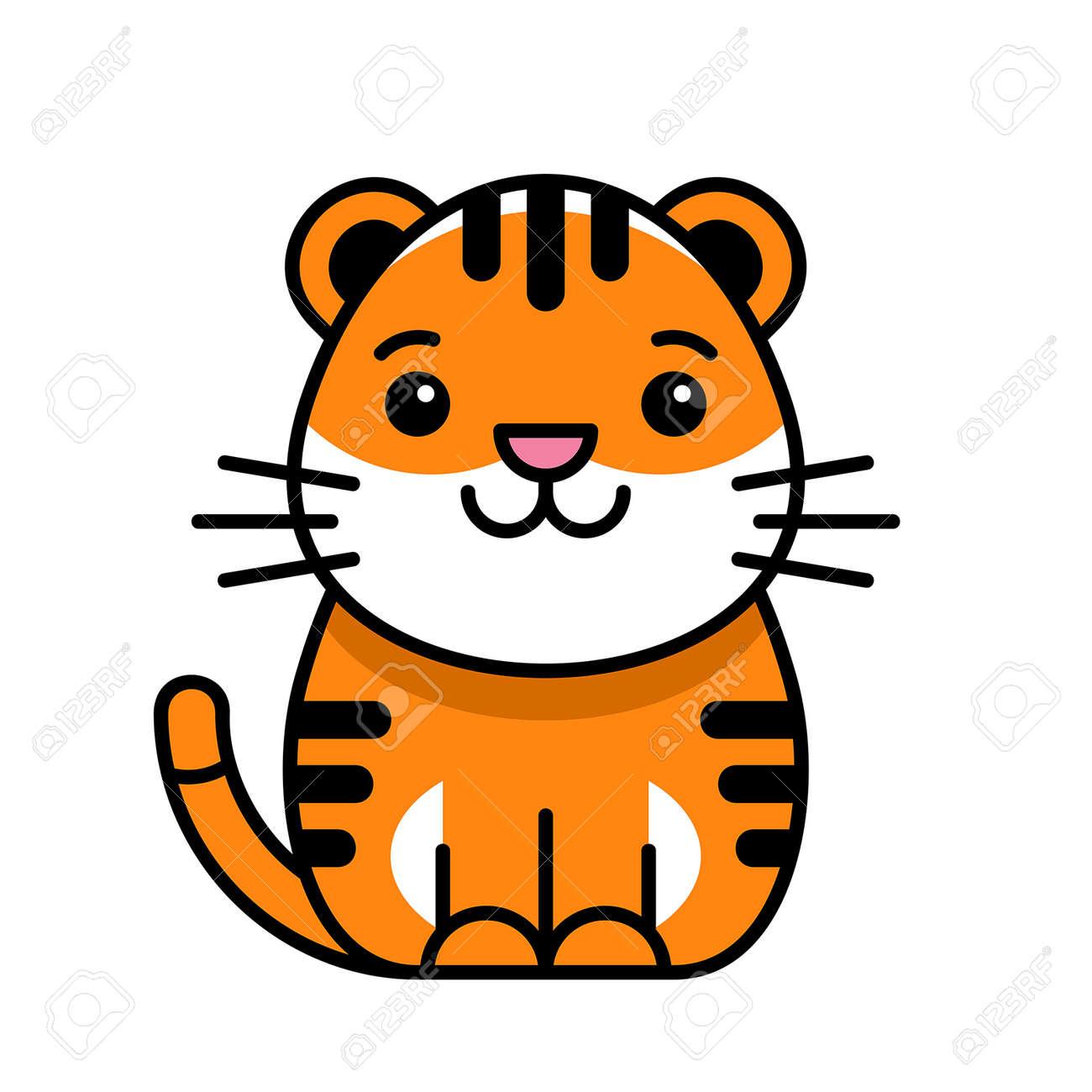 Tiger icon. Icon design. Template elements - 171231680