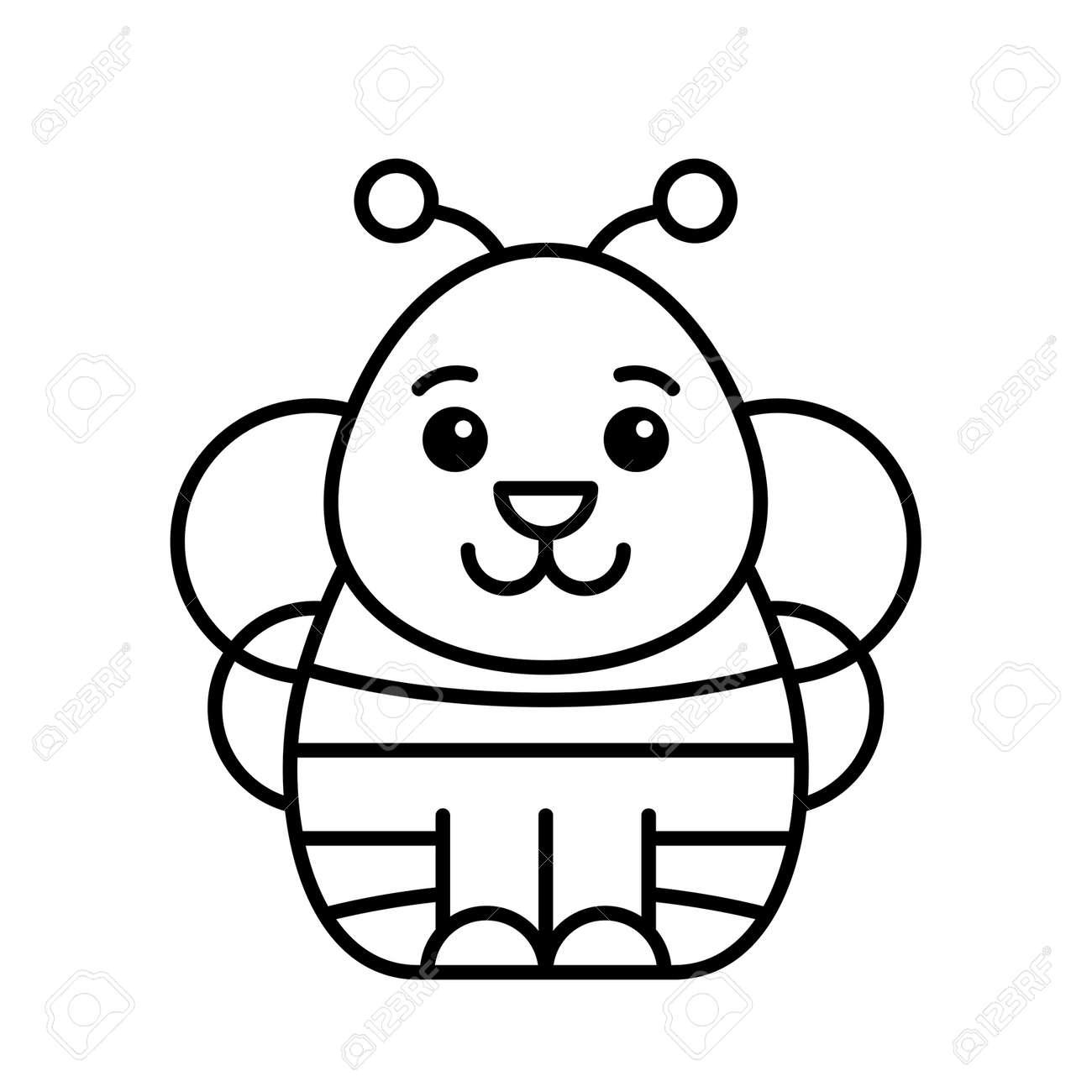 Bee icon. Icon design. Template elements - 171231682