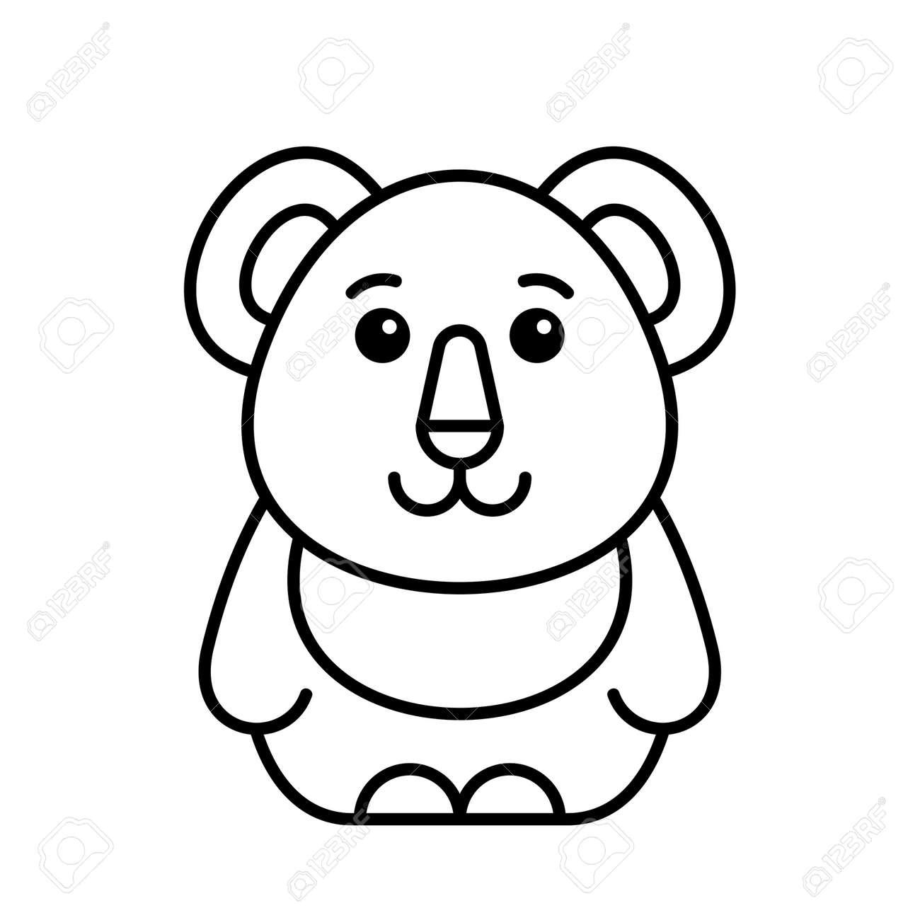 Koala icon. Icon design. Template elements - 171231686