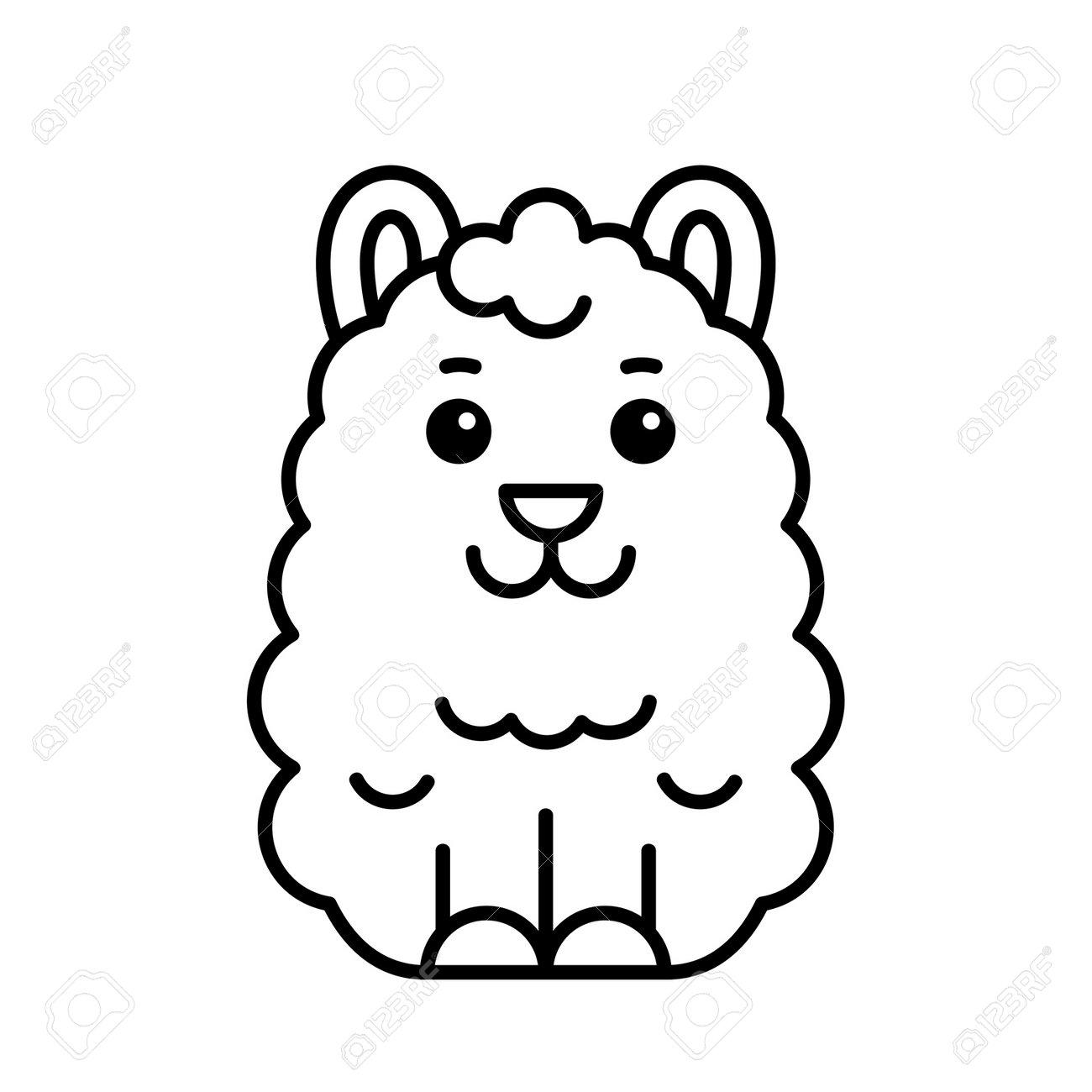 Lama icon. Icon design. Template elements - 171231693