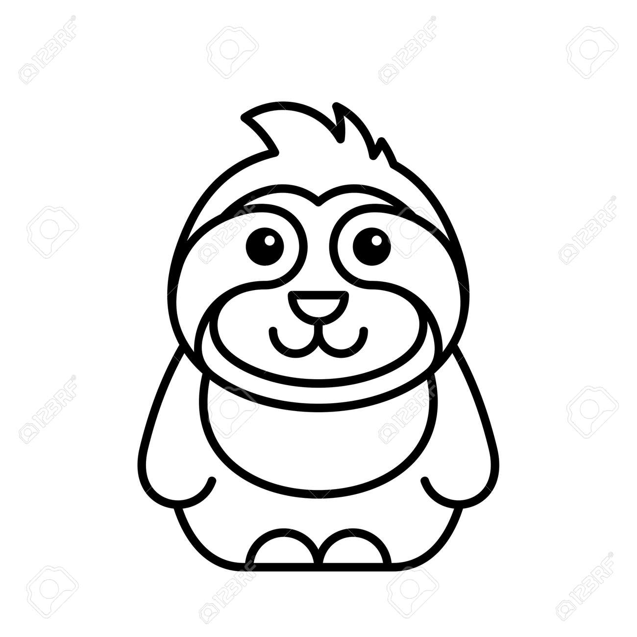 Sloth icon. Icon design. Template elements - 171231698