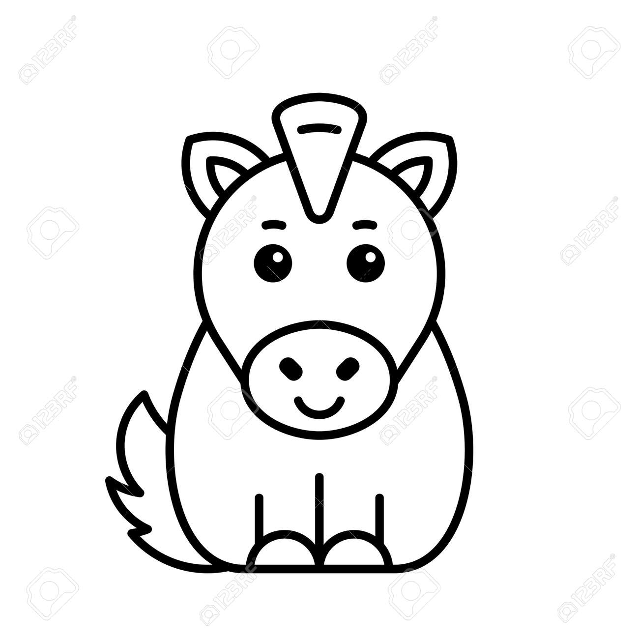 Horse icon. Icon design. Template elements - 171231704