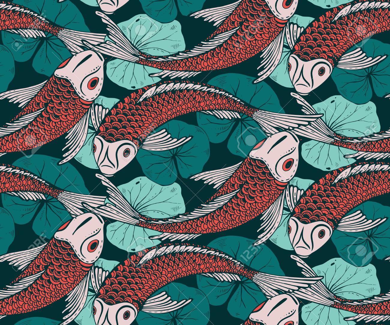 Ungewöhnlich Koi Fisch Malvorlagen Zeitgenössisch - Beispiel ...