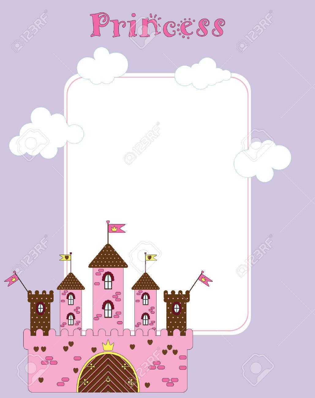 card for little princess Stock Vector - 7258080