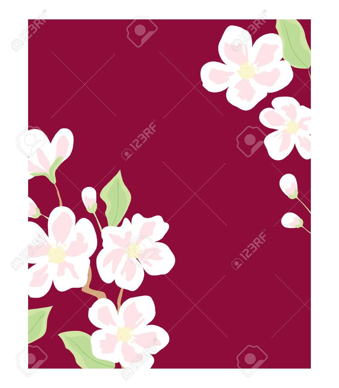 flowers blooming Stock Vector - 7541032