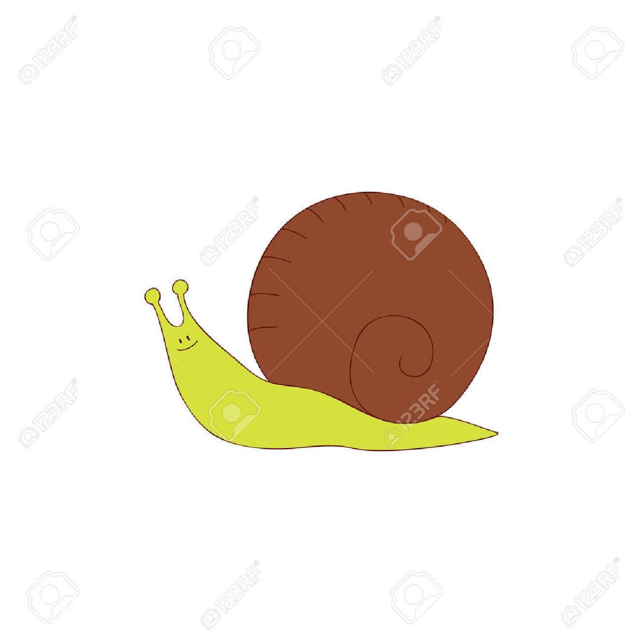 Hand drawn snail Stock Vector - 8778299