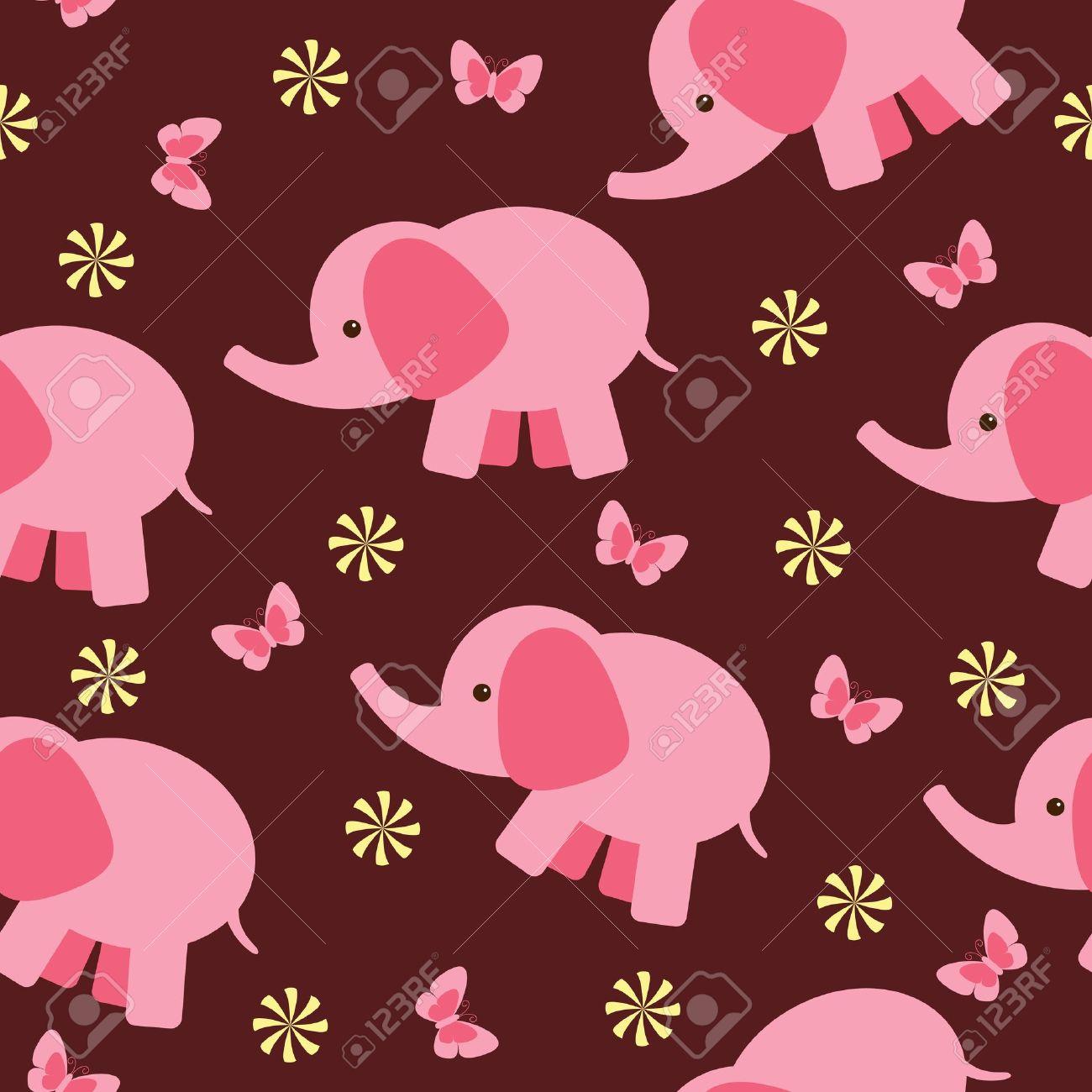 Baby Elephant Wallpaper Cartoon, Live Baby Elephant Cartoon ...