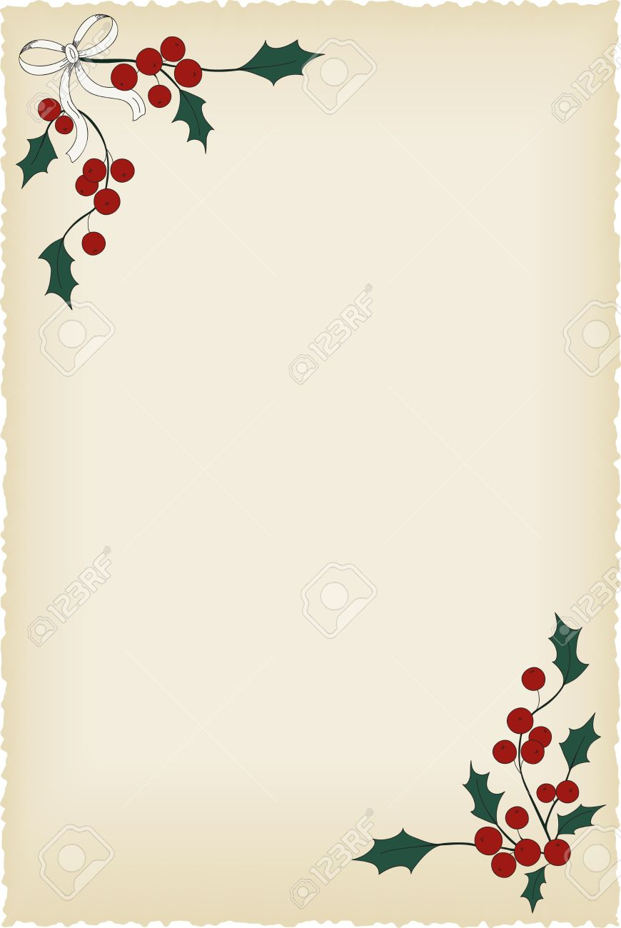christmas blank vintage background perfect for letters and christmas blank vintage background perfect for letters and invitations stock vector 22678698