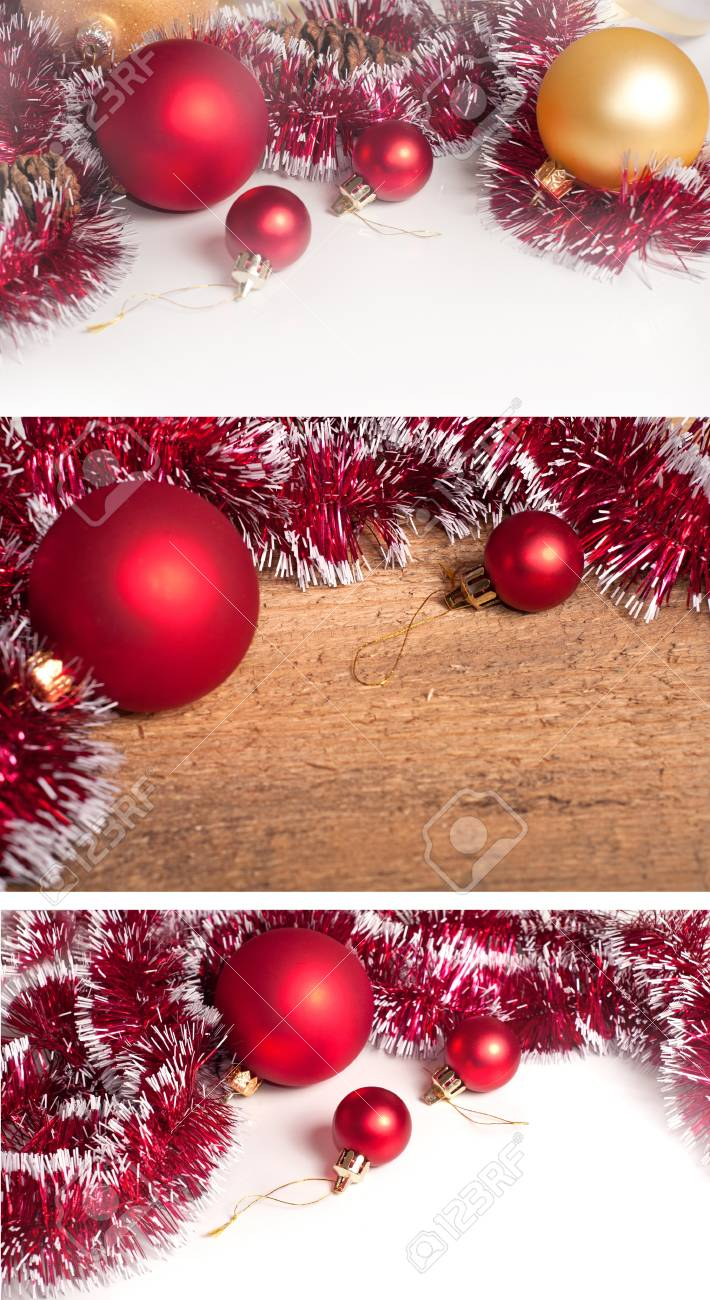 Collection of Christmas border Stock Photo - 21739619