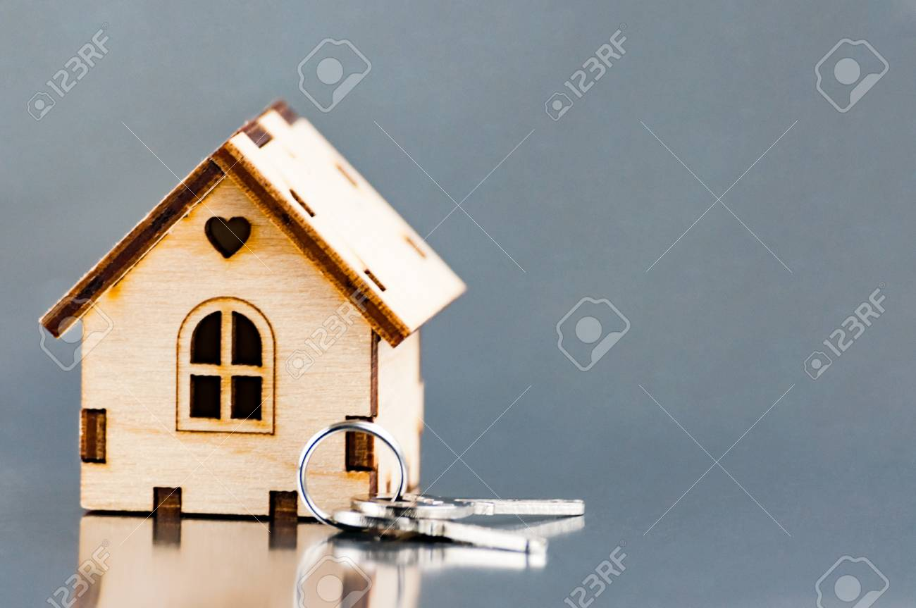 The Little House Next To The Keys Symbol Of Hiring A House For