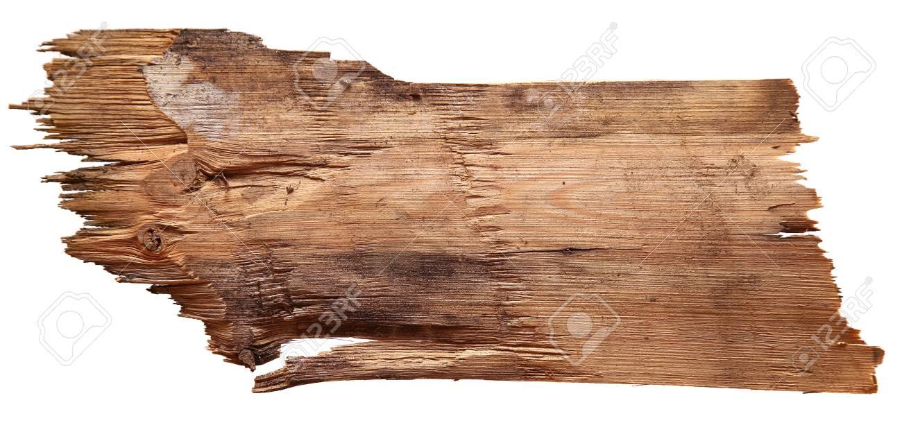 Ongekend Oude Houten Planken Geïsoleerd Op Een Witte Achtergrond. Royalty VW-07