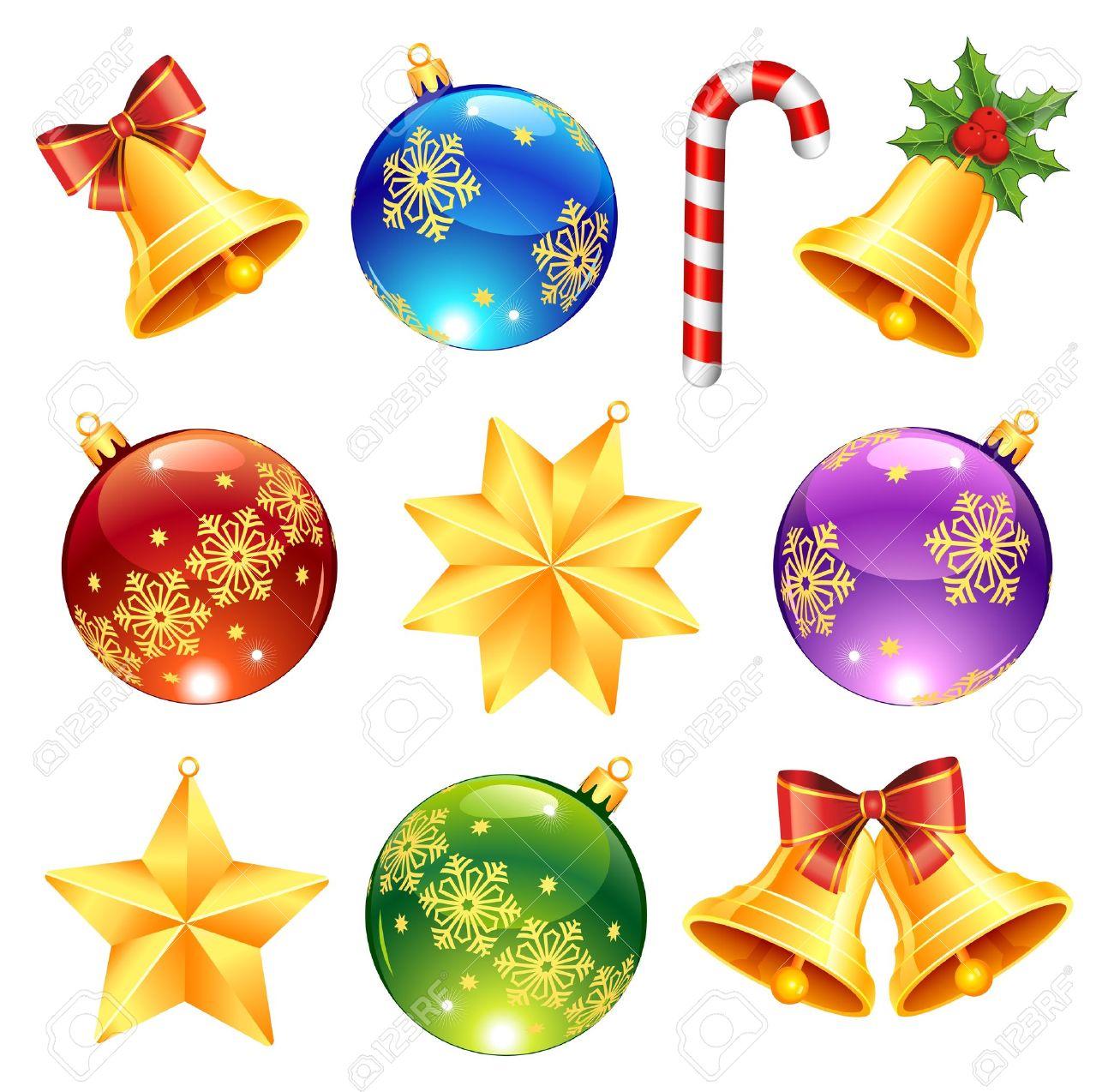 interesting beautiful coleccin de brillantes adornos navideos bolas de navidad campanas estrellas caramelos foto with navideas estrellas with campanas - Campanas Navideas