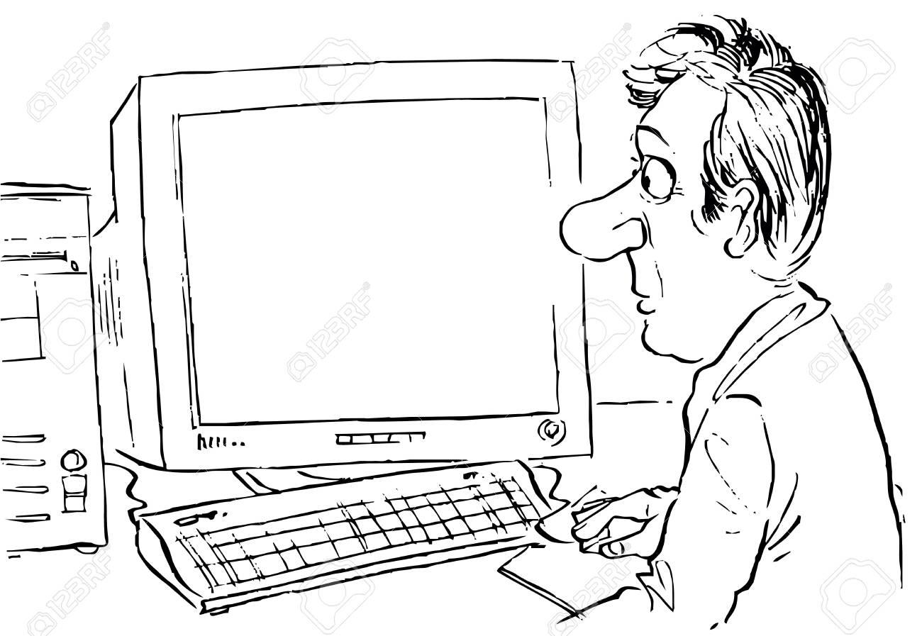 Computer user Stock Photo - 6124075