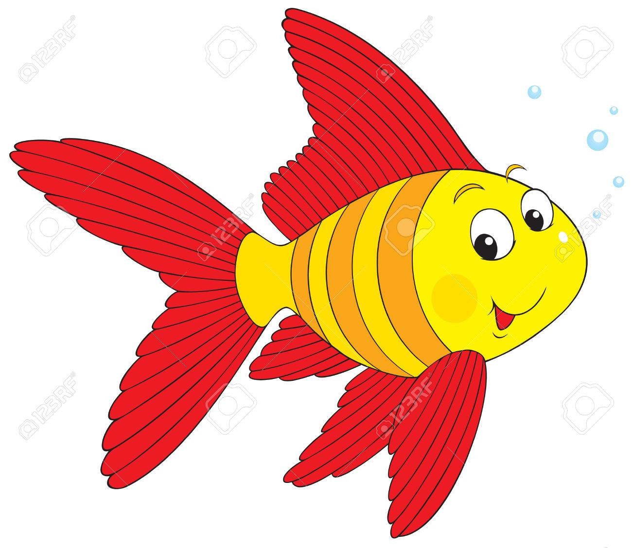 Striped Fish Royalty Free Cliparts, Vectors, And Stock Illustration ...