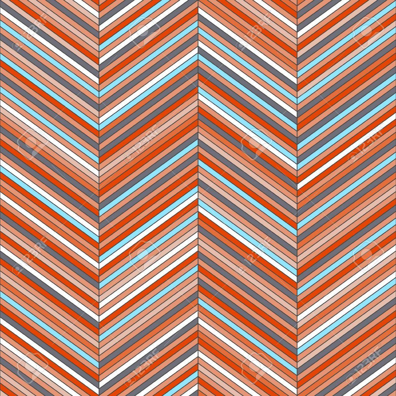 Chevron geometric seamless pattern Stock Vector - 16134954