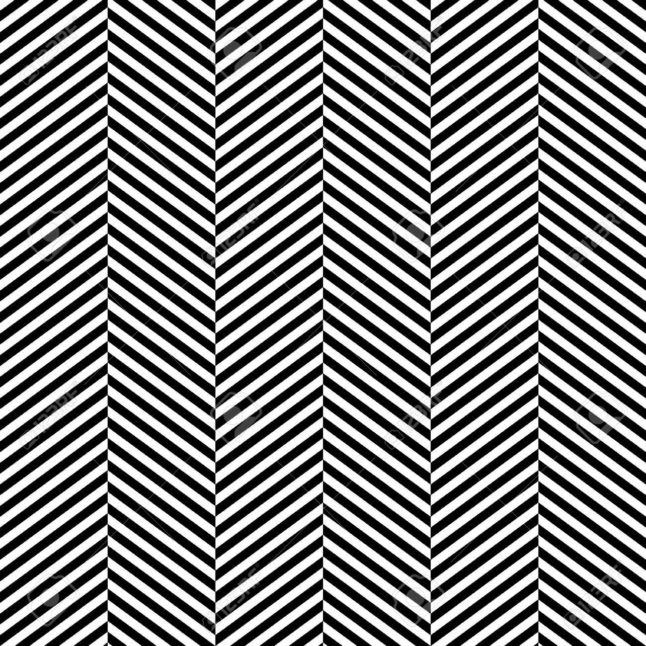 Black and white herringbone fabric seamless pattern Stock Vector - 17872643