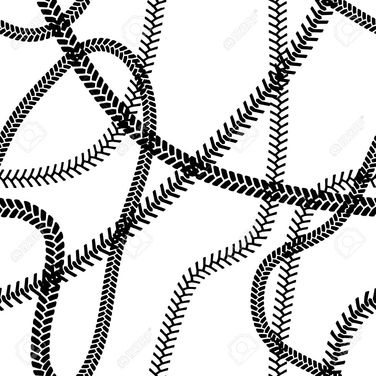 black and white tire tread protector track seamless pattern rh 123rf com tire tread vector image tire tread vector graphic