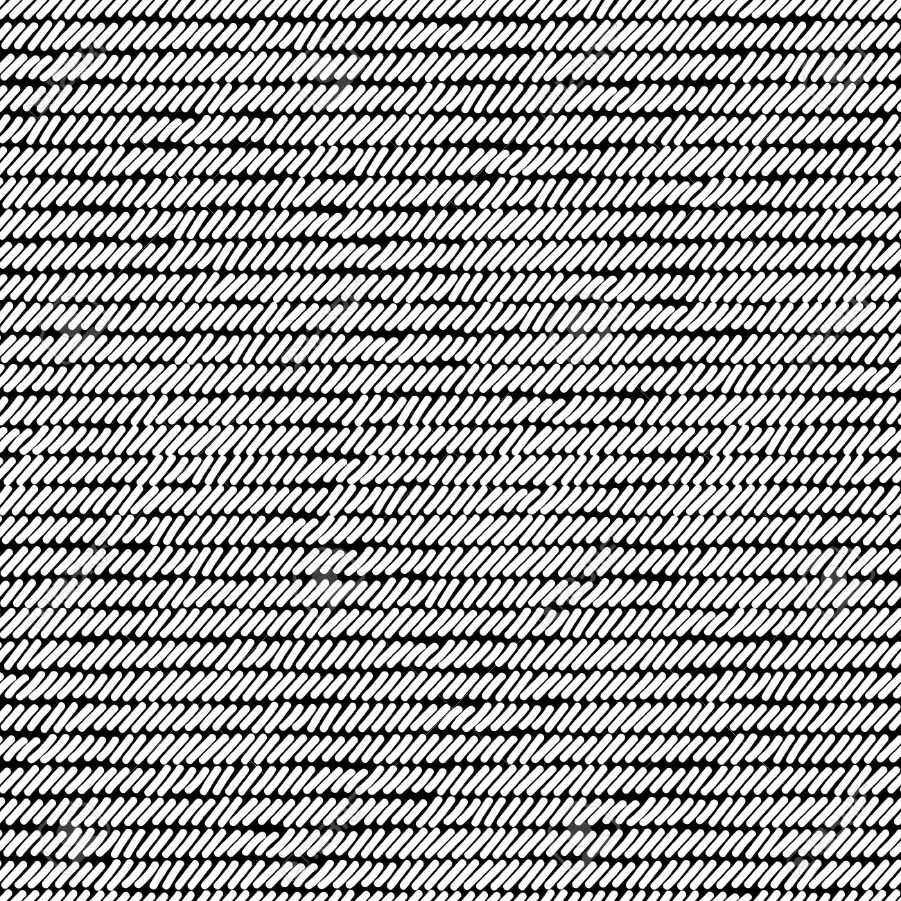 Picture of: Black And White Rug Woven Striped Fabric Seamless Pattern Vector Royalty Free Cliparts Vectors And Stock Illustration Image 85774443
