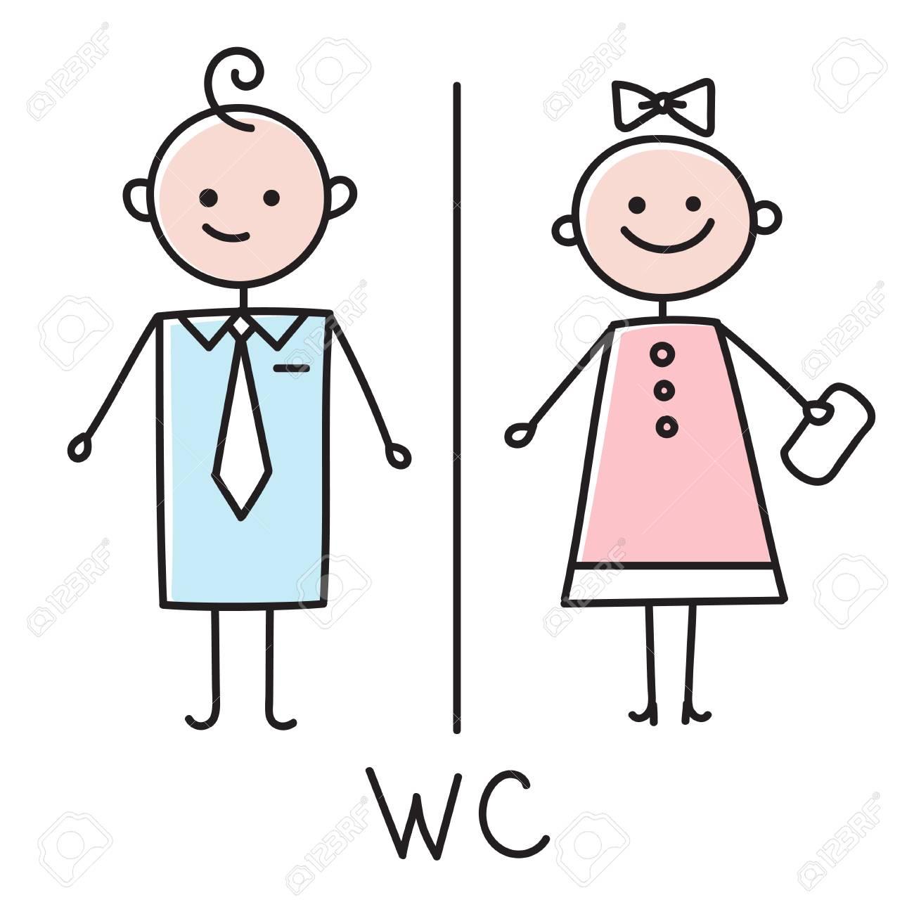 Badezimmer Türschild | Wc Symbol Toilette Turschild Symbol Badezimmer Teller Manner Und