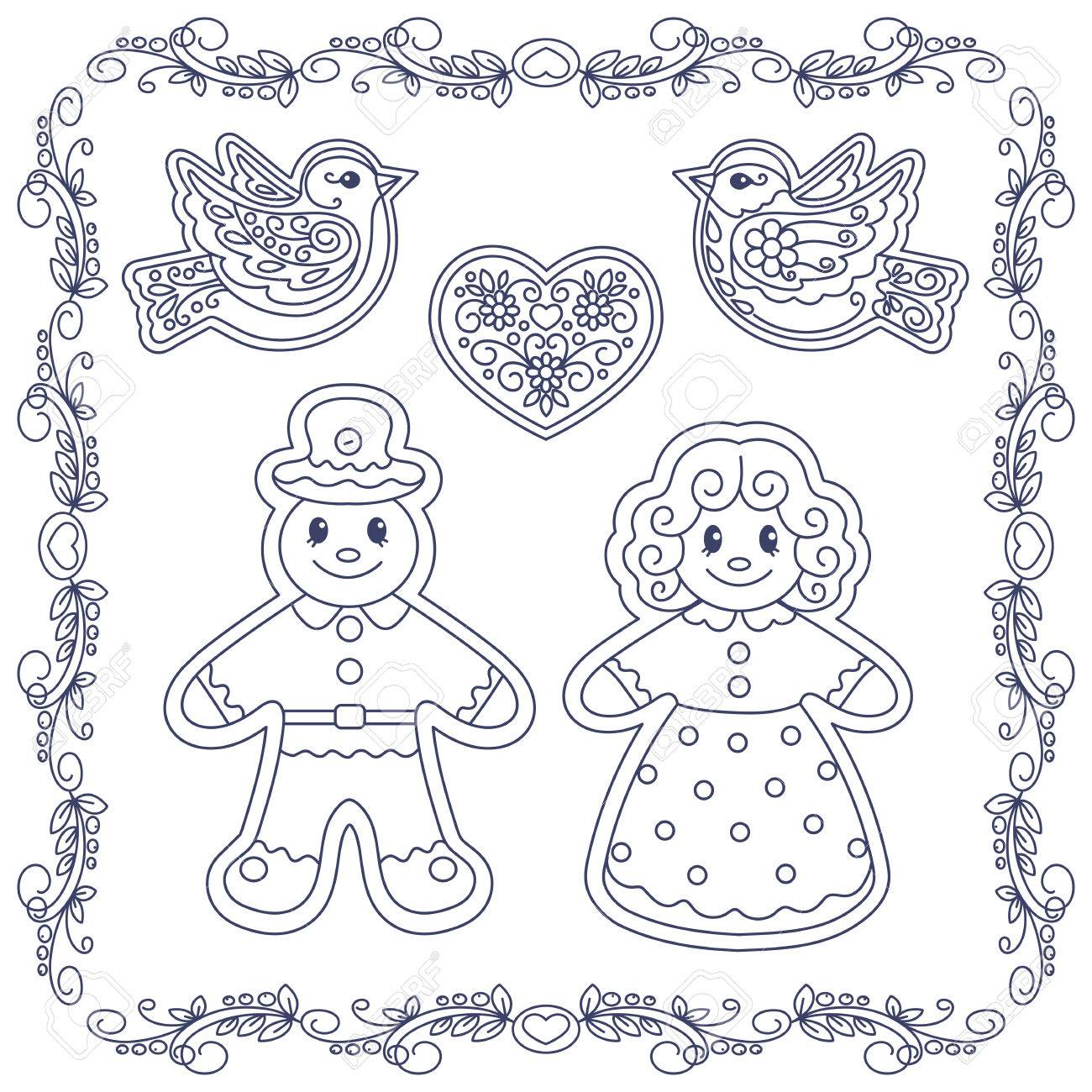 It's just a picture of Gingerbread Man Printable Book regarding loose