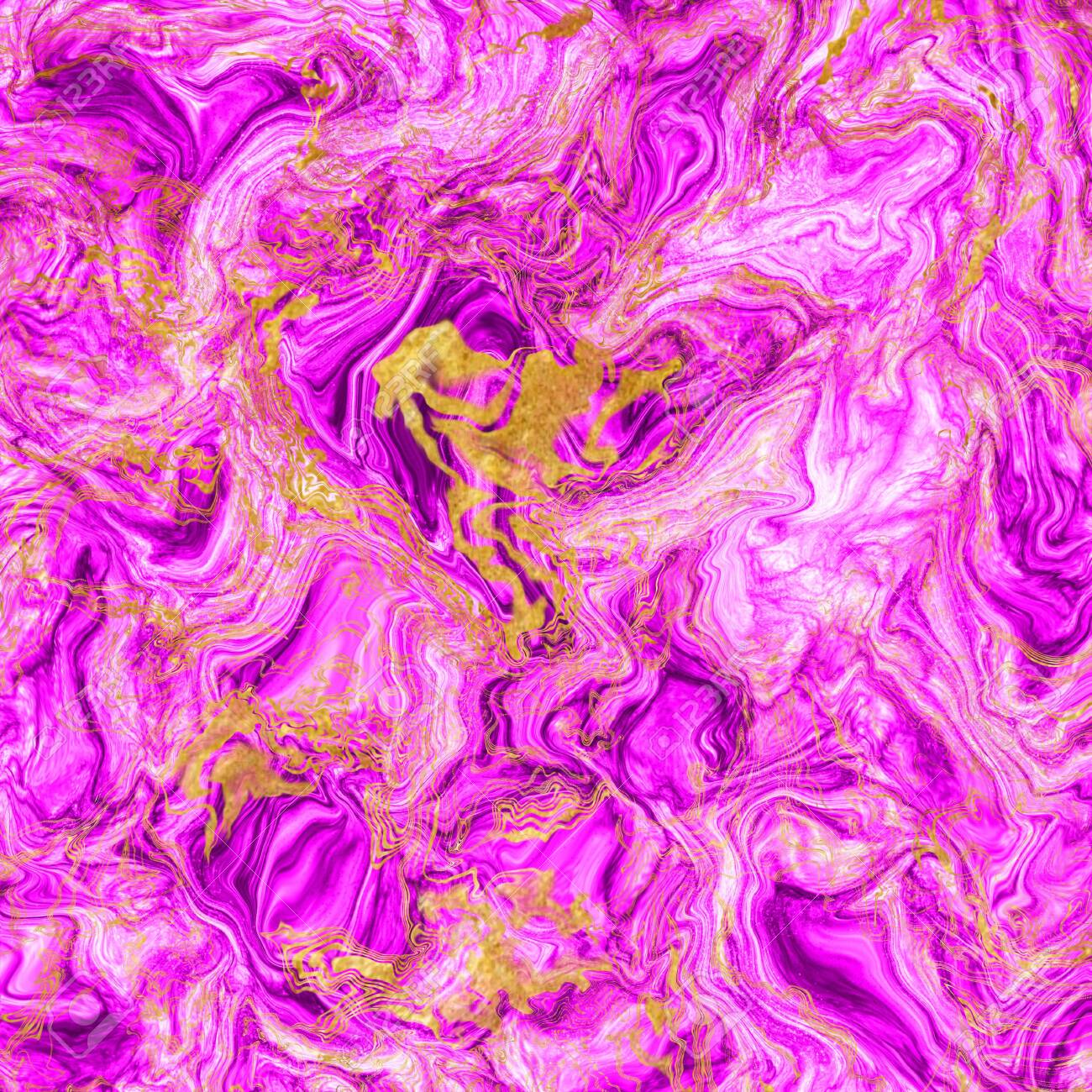 Bright Magenta And Gold Marble Swirls Modern Background Mixed Stock Photo Picture And Royalty Free Image Image 140417235