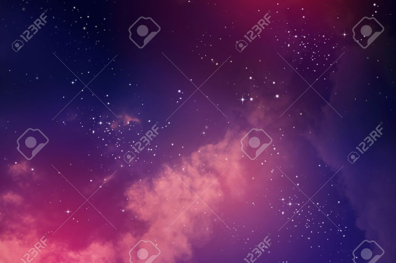 Stars in the night sky,nebula and galaxy Stock Photo - 44540215