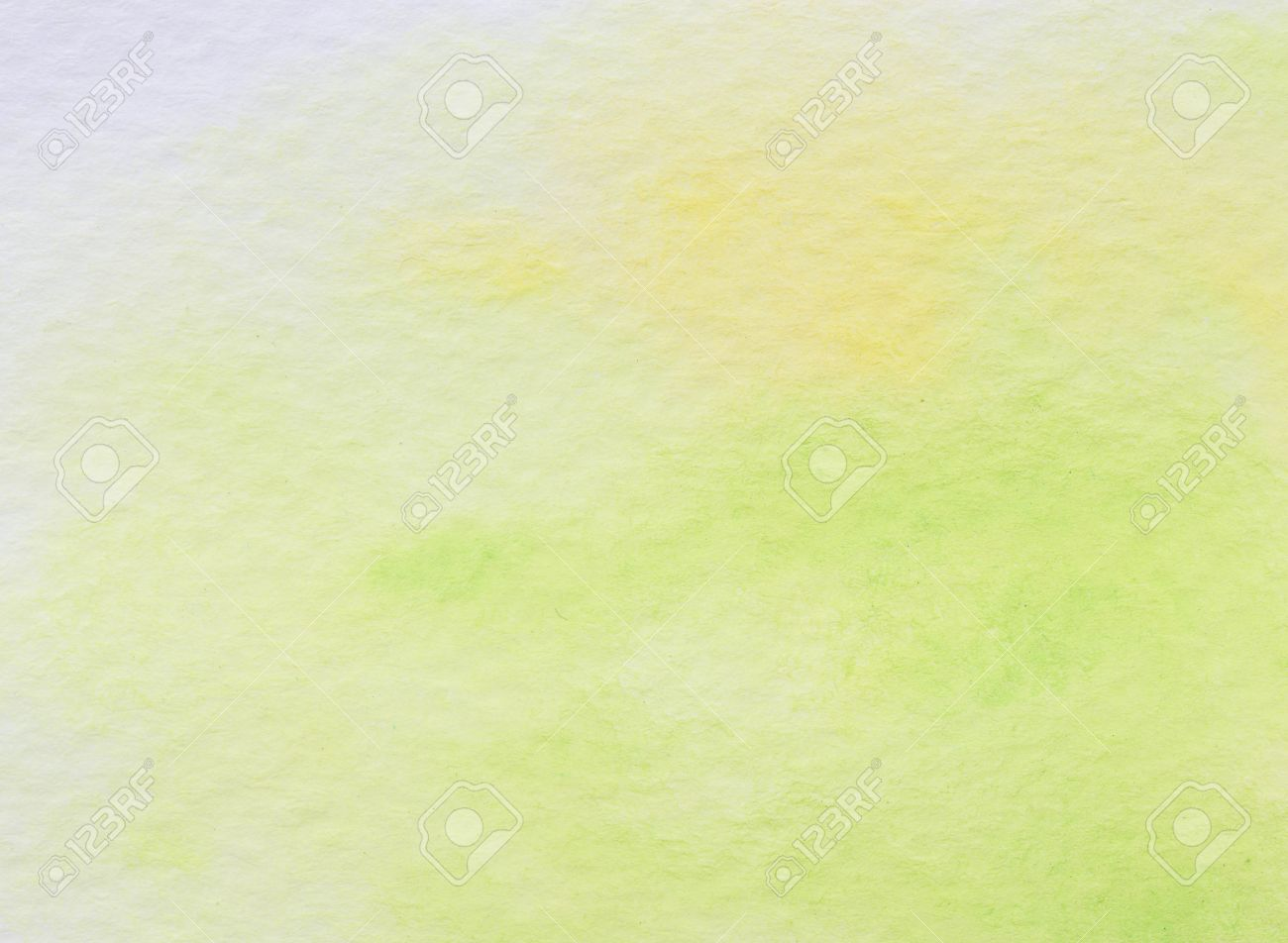 Watercolor Ombre Background WashWatercolor Green Stock Photo