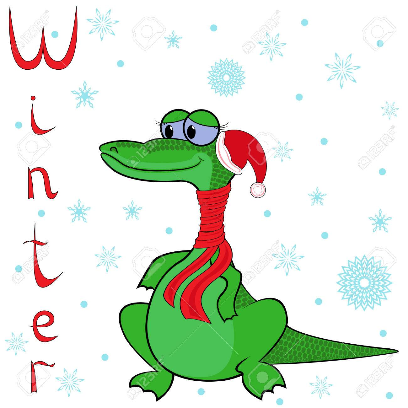 Warum Krokodil Ist So Kalt Im Winter Fröhlich Krokodil In Einem