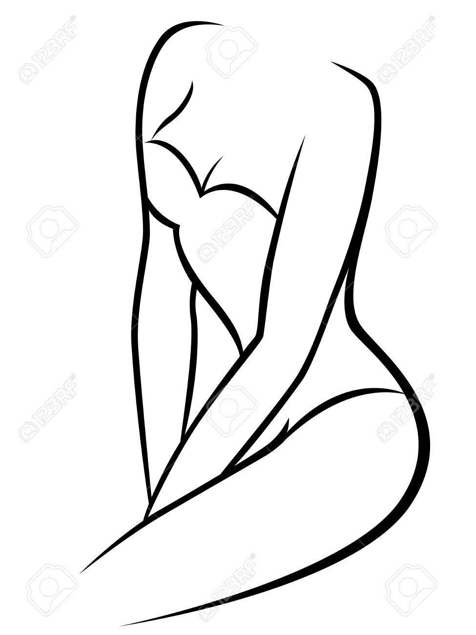Ungewöhnlich Innerhalb Weiblichen Körpers Zeitgenössisch - Anatomie ...