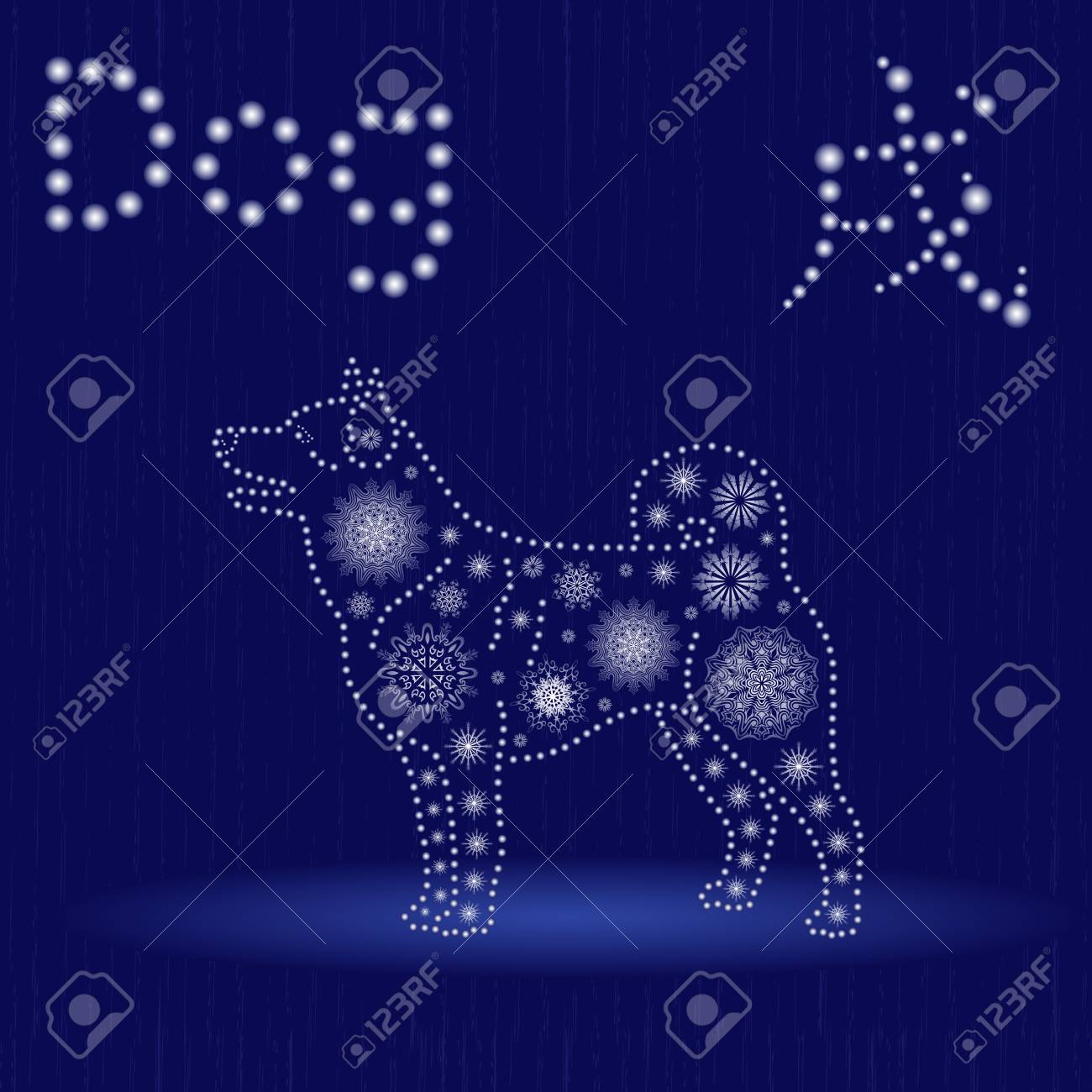Chinese zodiac sign dog fixed element earth symbol of new year chinese zodiac sign dog fixed element earth symbol of new year on the eastern buycottarizona Images