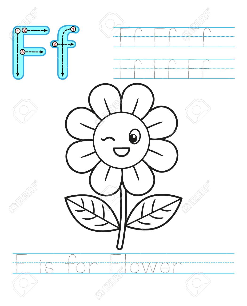 Coloring Book Page Printable Worksheet For Kindergarten And Royalty Free Cliparts Vectors And Stock Illustration Image 150011316