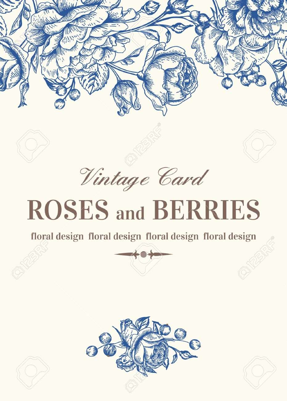 Download Vintage Wedding Card Background Hd
