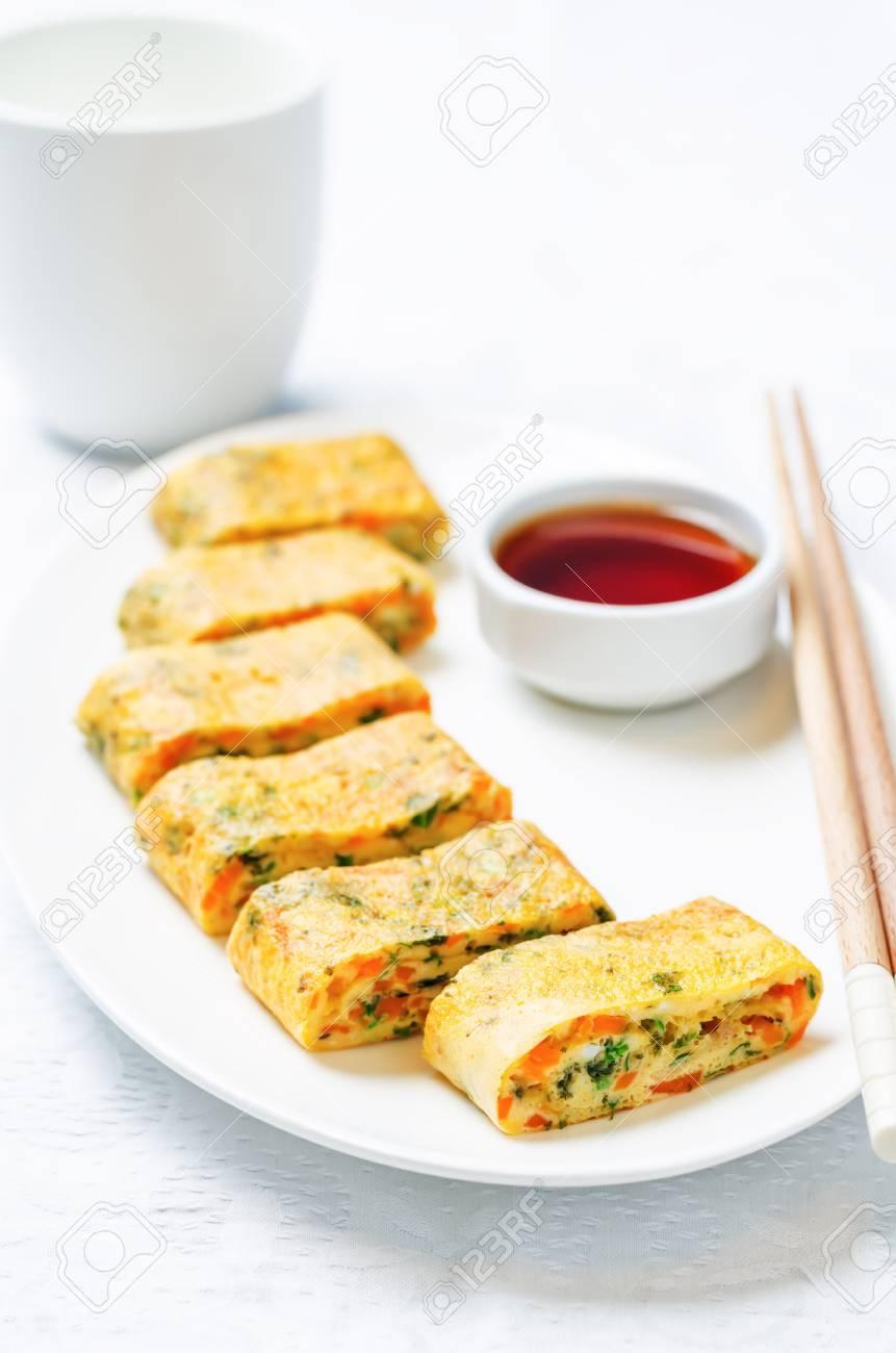 Image result for korean egg roll