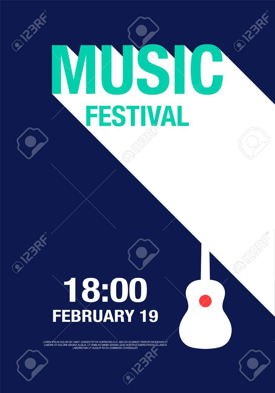 Modern Poster abstract modern poster concert design elements used for