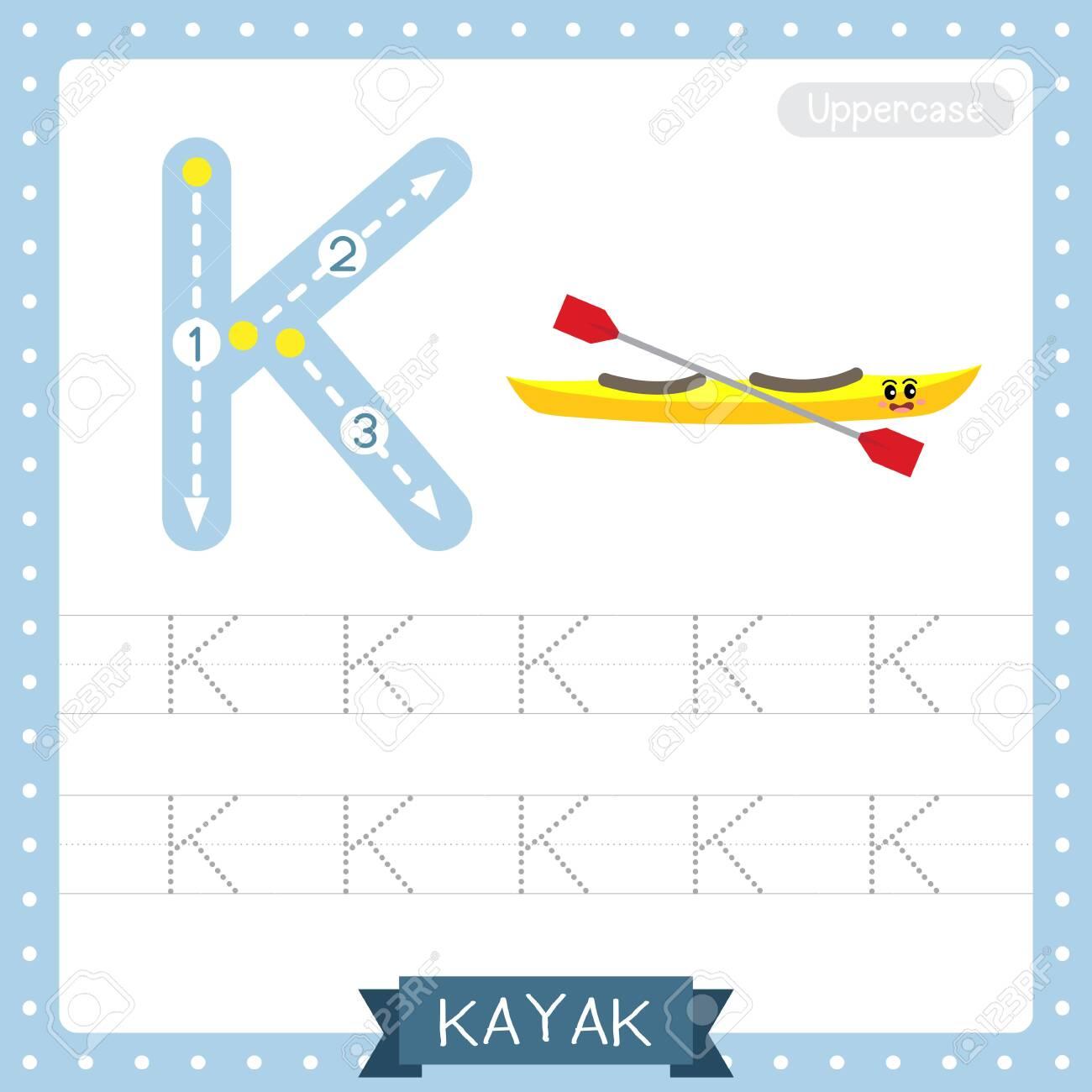 - Letter K Uppercase Cute Children Colorful Transportations ABC