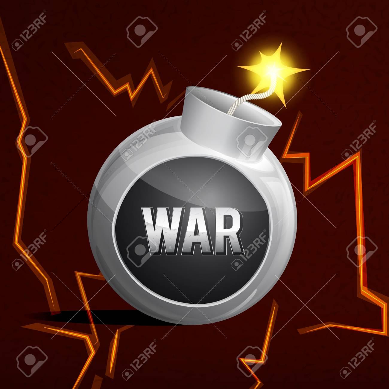 no war no bombs Stock Vector - 27539576