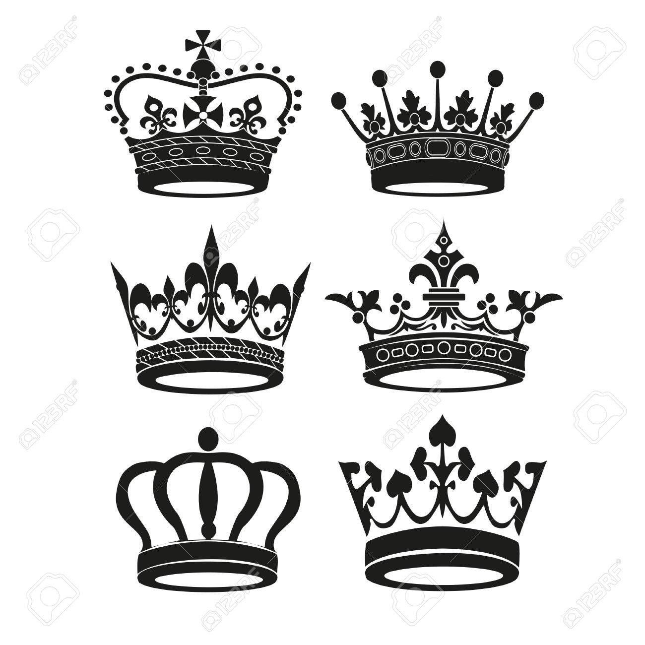 Crown Vector Illustration Royalty Free Cliparts, Vectors, And Stock ...